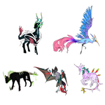 creature adoptables - over! by threestyle
