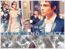 Blair and Chuck by Mahbg