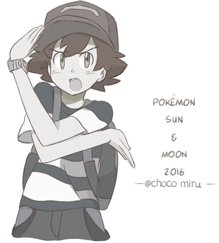 Ask Ketchum Collection - Sun and Moon by chocomiru02