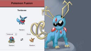 Pokefusion Tentavee by CarpedSoul