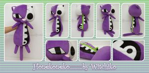 Honekoneko Plush::::: by Witchiko