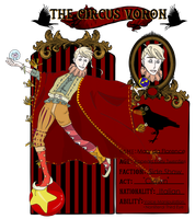 Mary da Florence - The Circus App by luckycoffeecake