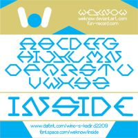 inside font by weknow by weknow