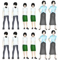 Sprite Sheet :: Side Characters Batch 1 by NeonIncarnate