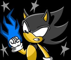 .:Dark Sonic:. by FabienneTheHedgehog