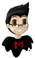 Markiplier Fanart Attempt by DarkBox-V2K