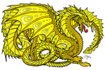 Lightning Dragons Born From His Yellow Scales by Serenity--Fantasy