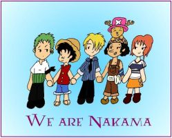 We Are Nakama by beanchan