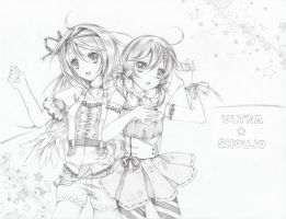 Pencil: Ultra Shoujo by aokamei