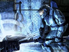 Halo 3 - The Gravity Hammer by Staticblaze