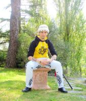 Trafalgar Law cosplay by es3090tl