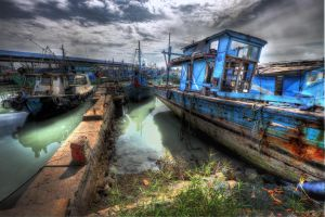 fishing village-5 by SAMLIM