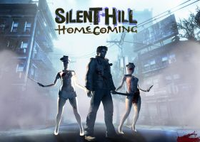Silent hill Homecoming by luciferFlash