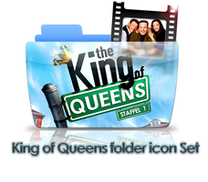 King of Queens folder icon set by xdragon16