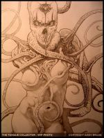 The Tongue Collector- Pencil by andybrase