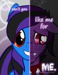 MLP - Two Sides of Shadow COMMISSION by Starbat