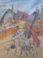 Kimeramon the digimon of destruction by Vilecannon13