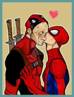 SPIDEYPOOL 1 by Slashpalooza