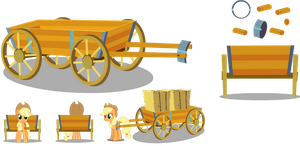 Cart Vector by TwitchyTail