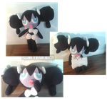 Gothorita plushie Commission by Possumato