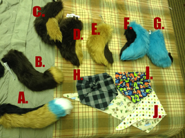 Tails and Fursuit Bandanas for Sale by MUDDii