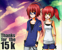 THANKS+15k by mysticsaku