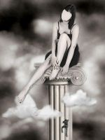 Pedestal in the Sky by Candela-di-Vita