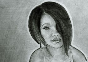 Rihanna doodle by Scarry
