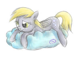 derpy doodle by PoisonicPen