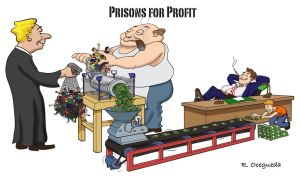 Prisons for Profit by Dooderote