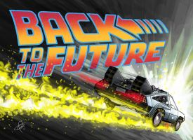Back to the future by SantosArt