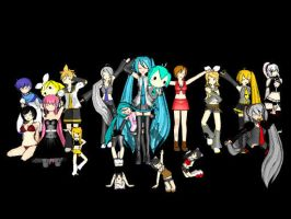 Most of my MMD models by PyroXNamedXHaze