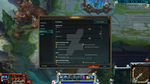League of Legends stream overlay with Poro by Kireaki
