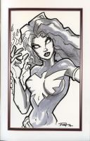 Free Sketch Dark Phoenix by PatrickFinch
