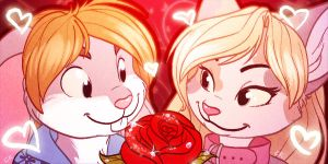 Cari and Nall Icons by autogatos
