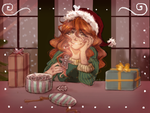 AD: Gingerbread + Secret Santa for Stychno + by Casadriss