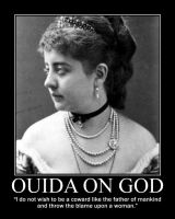 Ouida on God by fiskefyren