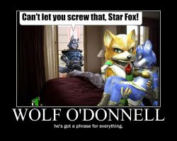 Star fox Motivational poster by SkraytheRiolu