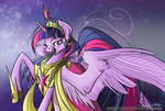 Twilight Sparkle, the Princess of Sass by NastyLady