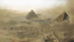 Giza Background by TheMuteRobot