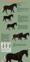 How to shade horses in SAI by Aithair