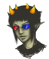 Sollux thing by SnowpirateRoy