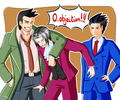 Ace Attorney - O-objection!!! by Minouze