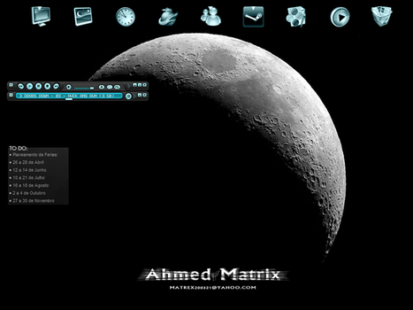 My ... Desktop by Ahmed-Matrix