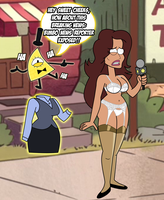 Gravity Falls: Shandra Jimenez Exposed by grimphantom