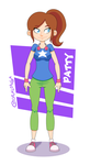 Patty - Character Design by Costalonga