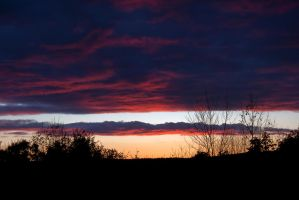 Colorful Clouds in the Sky II by xDx