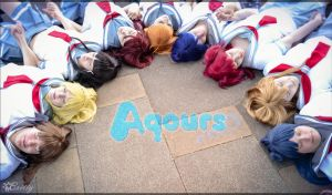 Love Live! Sunshine!! - Aqours by SharyNyanko