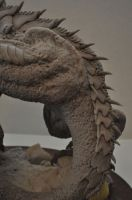 Dragon Wyrm Sculpt WIP 8 by AntWatkins