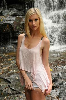Kahli - pink top 2 by wildplaces